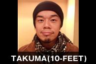 TAKUMA(10-FEET)