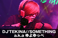 DJ'TEKINA//SOMETHING a.k.a ゆよゆっぺ